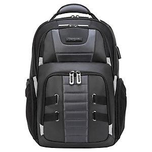 "Targus DrifterTrek Sac à dos pour ordinateur portable 11,6"" à 15,6""  avec USB Power Pass-Thru - Noir"