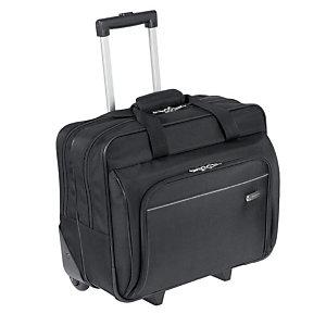 TARGUS Executive, sacoche d'ordinateur portable avec roulettes 15-16 pouces, polyester, noir