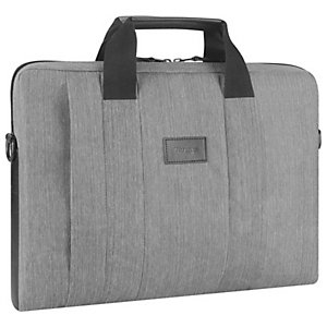 """Targus Mallette grise pour ordinateur portable - Fourreau pour ordinateur portable City Smart, Housse, 39,6 cm (15.6""""), 380 g TSS59404EU"""