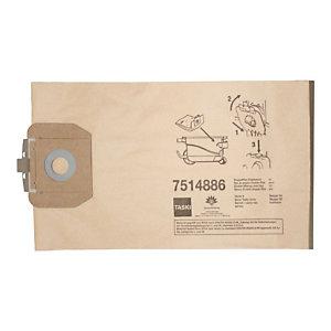 Taski Sacchetto per Aspirapolvere Taski Vento 8(S) e Baby Bora, Carta, 8 litri (confezione 10 pezzi)