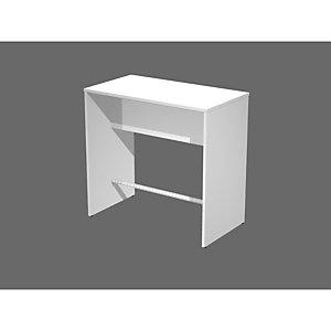 Tavolo alto ristoro, 4 posti, 110 x 70 x 105 cm, Bianco