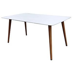 Tavolo da Giardino Antibes, Alluminio, Bianco