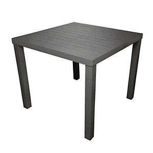 Tavolo da giardino Contract, 80 x 80 x 75 cm, Alluminio, Antracite