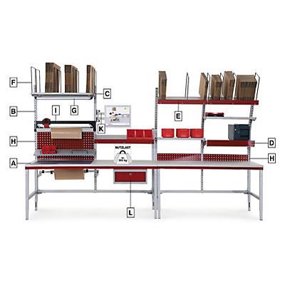 Tavolo da Imballaggio modulabile System Flex