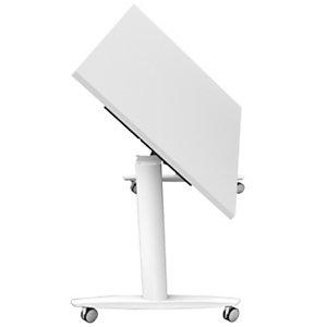 Tavolo multifunzione ribaltabile, 160 x 80 x 73,7 cm, Bianco