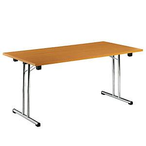 Tavolo pieghevole, 160 x 80 x 72,5 cm, Faggio