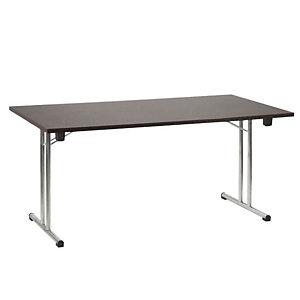 Tavolo pieghevole, 160 x 80 x 72,5 cm, Wengé