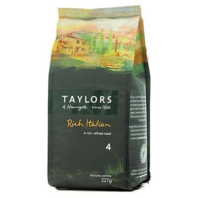Taylors of Harrogate Rich Italian Coffee - 227g