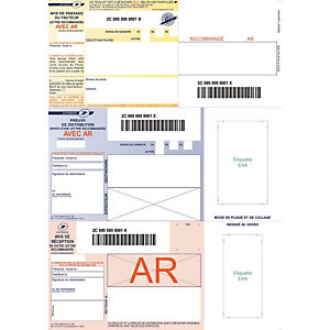TECHMAY Support recommandé bureautique + CD - Boite de 150