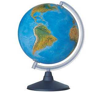 Tecnodidattica Globo geografico illuminato Elite - diametro 30 cm - Tecnodidattica