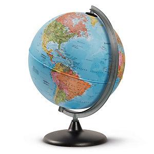 Tecnodidattica Globo geografico non Illuminato - altezza 42 cm - diametro 30 cm - Tecnodidattica