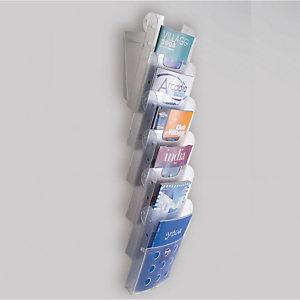TECNOSTYL Vaschette portariviste da parete - Tecnostyl - set 6 tasche A4