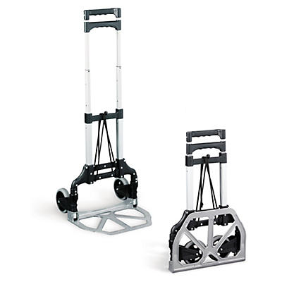 Telescopic folding sack trucks