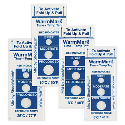 Indicateur de température WarmMark®##Temperaturindikator WarmMark®