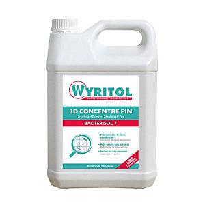 Détergent désinfectant HACCP 3D Wyritol Bactérisol 7 pin 5 L