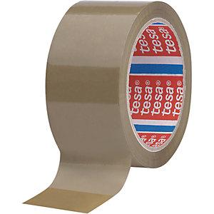 tesa® 4089 Nastro adesivo, 50 mm x 66 m, Polipropilene (PP), Camoscio (confezione 6 rotoli)