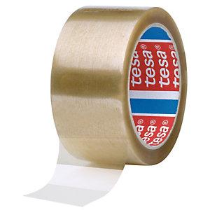tesa® 4089 Nastro adesivo, 50 mm x 66 m, Polipropilene (PP), Trasparente (confezione 6 rotoli)