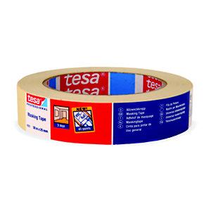 tesa® 4323 Nastro in carta per mascheratura, 25 mm x 50 m, Beige
