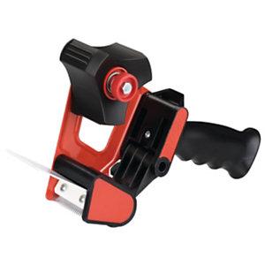 tesa® Dévidoir manuel CLASSIC avec poignée pistolet noir et rouge 56403