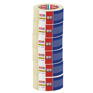 tesa® Nastro adesivo di carta Beige chiaro 50 mm x 50 m 4323 (Confezione 6 rotoli)