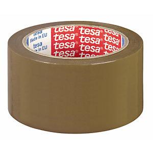 TESA Nastro adesivo - PPL - 50 mm x 132 mt - color avana - Tesa