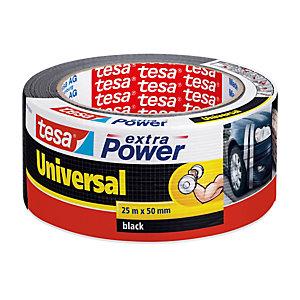TESA Nastro adesivo Tesa® Extra Power Universal - nero - 25 m x 50 mm