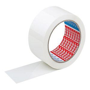 tesa® Nastro biadesivo per il montaggio in tessuto non tessuto Trasparente 25 mm x 50 m 51570 (confezione 6 rotoli)