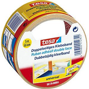 tesa® Nastro biadesivo Universal Bianco 50 mm x 5 m 56170