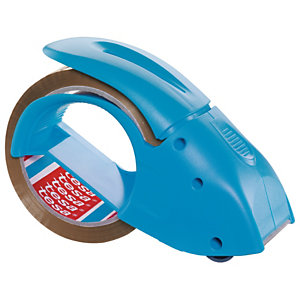tesa® Pack 'n Go Dispensador de mano de cinta azul de 171x68x115mm
