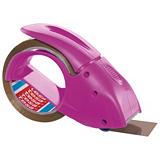 tesa® Pack 'n Go Dispensador de mano de cinta rosa de 171x68x115mm