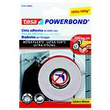 tesa® Powerbond® Cinta adhesiva doble cara blanca 19 mm x 1,5 m