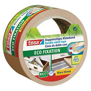 tesa® Ruban adhésif double face Ecologo - 50 mm x 10 m