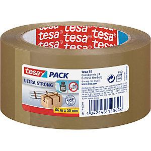 tesa® Ruban adhésif d'emballage tesapack PVC Ultra Strong 65 microns - 50mmx66m - Havane