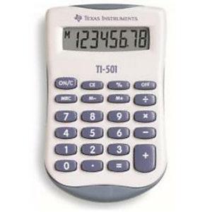 Texas Instruments, Calcolatrici, Ti 501, TI501