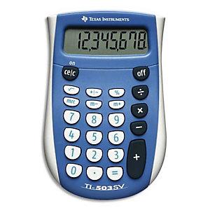 TEXAS INSTRUMENTS Calculatrice 8 chiffres TI 503SV double affichage/conversion facile