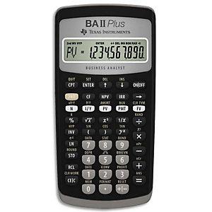 TEXAS INSTRUMENTS Calculatrice financière BA-II-Plus IIBAPL/TBL/4E2/B