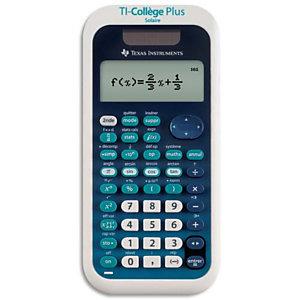 TEXAS INSTRUMENTS Calculatrice scientifique TI-College Plus COLLEGEP/TBL/1E2