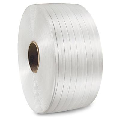 Feuillard textile fil à fil pour cerclage de qualité standard##Textielband voor omsnoering, standaardkwaliteit