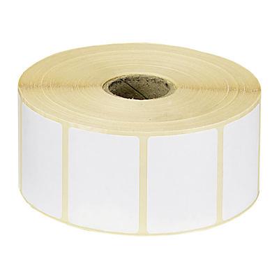 Étiquette papier thermique direct##Thermo-Papier Etiketten auf der Rolle