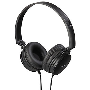 THOMSON HED2207BK Auriculares de diadema con cable, 1,2 m, negro