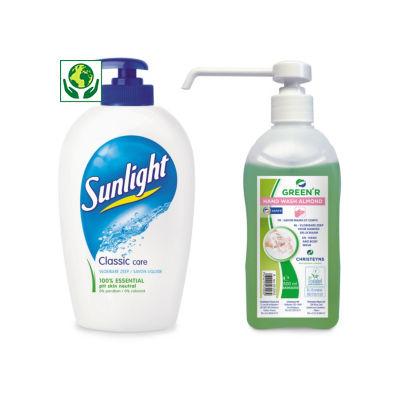 TEMPORAIREMENT DISPONIBLE Savon liquide##TIJDELIJK UIT VOORRAAD Vloeibare zeep