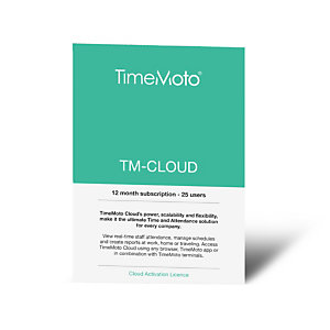 TimeMoto CLOUD Software controlador de presencia en la nube para cualquier navegador