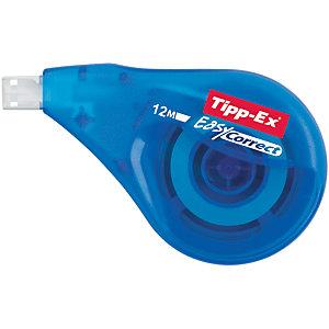 Tipp-Ex Roller de correction à dépose latérale Easy Correct 4,2mmx12m Bleu translucide
