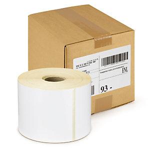 Étiquette papier thermique direct mandrin 40 mm RAJA
