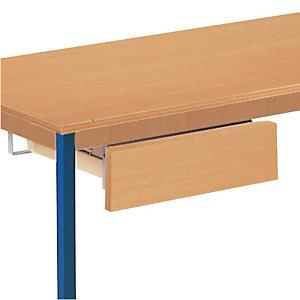 Tiroir adaptable pour tables universelles, coloris hêtre