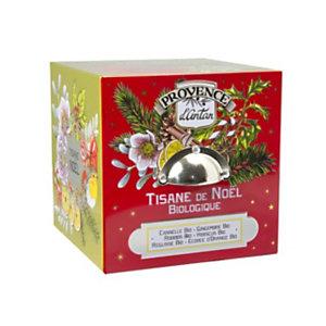 Tisana Biologica di Natale Araquelle Mon Casier, 24 filtri in scatola di metallo
