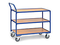 Tischwagen mit 3 Ebenen