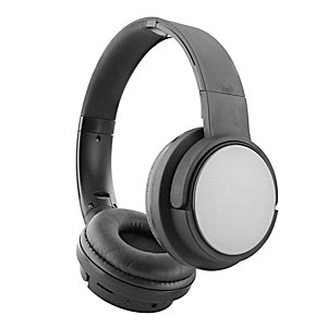 TNB Cuffia Shine Bluetooth, 4  funzioni (Bluetooth, Cablato, Lettore di schede SD, Radio FM), Nero