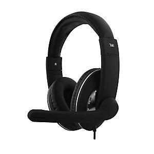 TNB Cuffia stereo USB HS-500, Nero