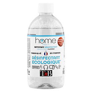 TNB DES500 Nettoyant désinfectant multi-usages et écologique - Flacon 500 ml